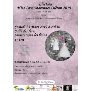 ELECTION MISS PAYS MARENNES-OLERON