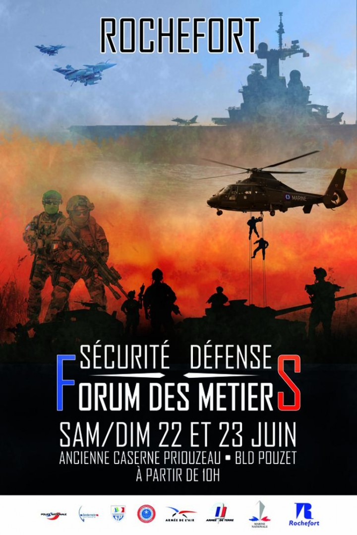 FORUM DES METIERS SECURITE DEFENSE A ROCHEFORT