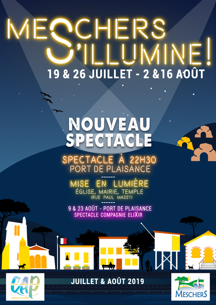 MESCHERS S'ILLUMINE ! NOUVEAU SPECTACLE